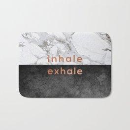 Inhale Exhale Copper Bath Mat