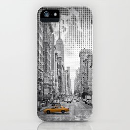 Graphic Art NEW YORK CITY 5th Avenue iPhone Case