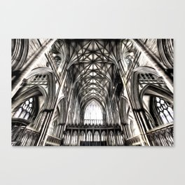 York Minster Art Canvas Print