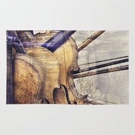 Classic Violins Rug