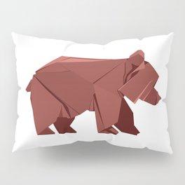 Origami Bear Pillow Sham