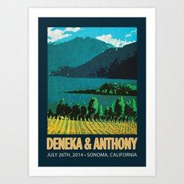 Deneka's Print Art Print