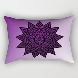 Purple Star | Tam Tam | Mandhala Rectangular Pillow
