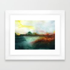 Mourning Morning Framed Art Print