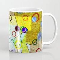 kandinsky Mugs featuring Without incident by Kay Weber