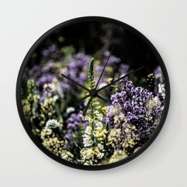 Flower Photography by james shepperdley Wall Clock