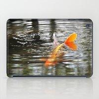 koi fish iPad Cases featuring Koi Fish by Aldari Photo