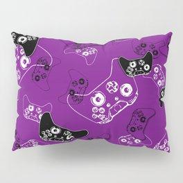 Video Game Purple Pillow Sham