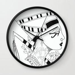 Nefertiti Egyptian Queen Wall Clock