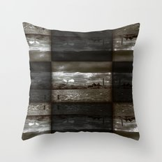 Lost Industry Throw Pillow