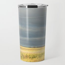 Field and Sky Travel Mug