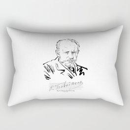 Tchaikovsky-Russian-Classical Music Rectangular Pillow