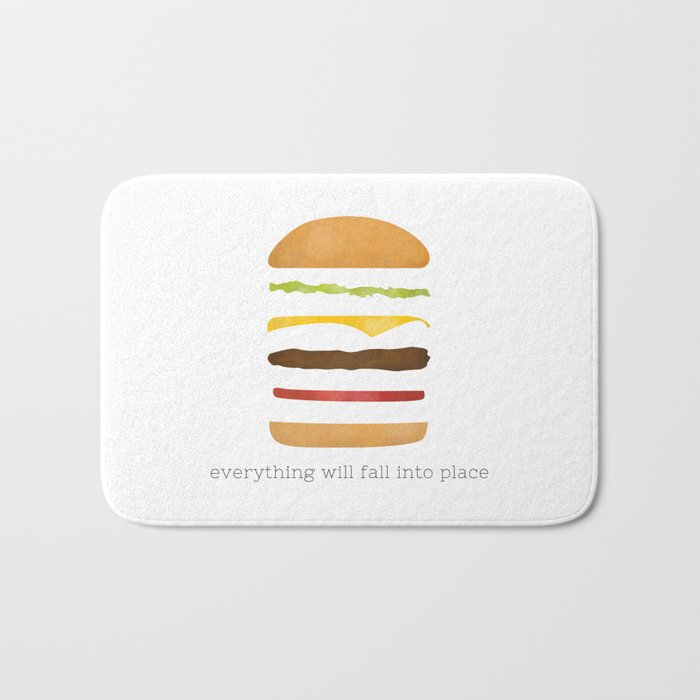 Everything Will Fall into Place Bath Mat