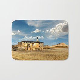 Little House on the Prairie panoramic image. Wild west stories Bath Mat