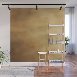 Modern elegant abstract faux gold gradient Wall Mural