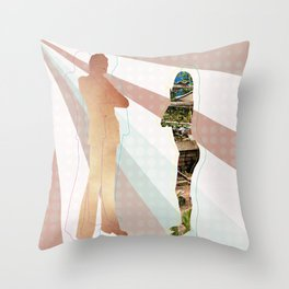 Beggars  Still Can't Be Choosers Throw Pillow
