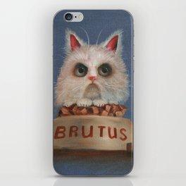 Brutus iPhone Skin