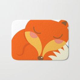 shhh... Fox is sleeping. Bath Mat