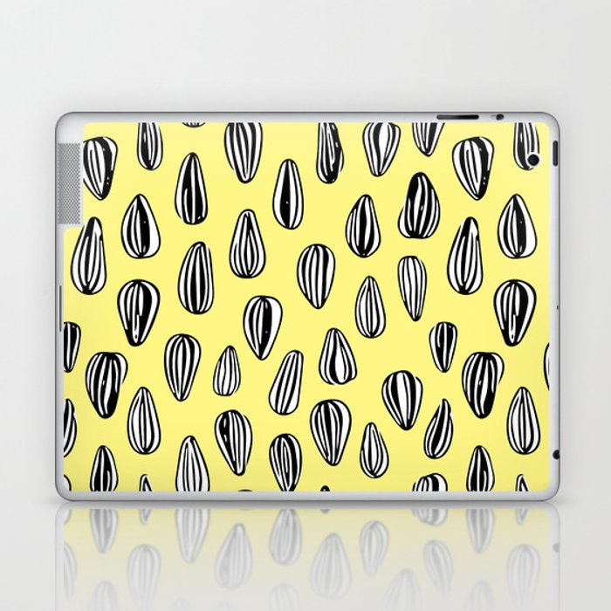 sunflower seeds Laptop & iPad Skin