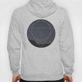Spinning Universe - Geometric Photography Hoody