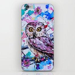 Three Little Owls iPhone Skin