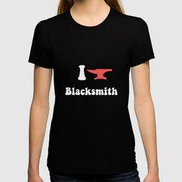 I Love Blacksmith T-shirt