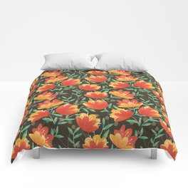 Afternoon Blossoms Comforters