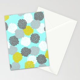 Block Printed Floral Stationery Cards