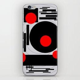 Optical Red iPhone Skin