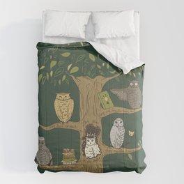 Never Trust an Owl Comforters