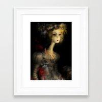 sydney Framed Art Prints featuring Sydney by Sona