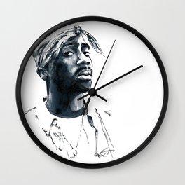2 pac Wall Clock