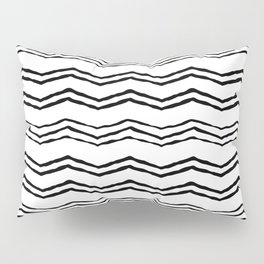 Triangle wave lines Pillow Sham