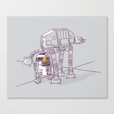 Not quite a fire hydrant Canvas Print