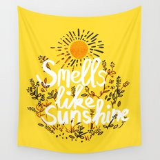 Smells Like Sunshine Wall Tapestry