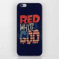 Red, White, & Goo iPhone & iPod Skin