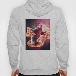 Pizza Sloth Hoody