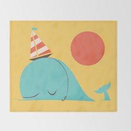 Party Hat Throw Blanket