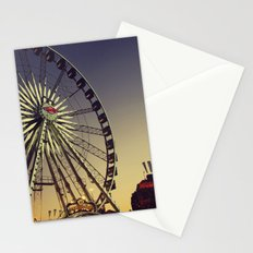 Dusk at the Carnival Stationery Cards