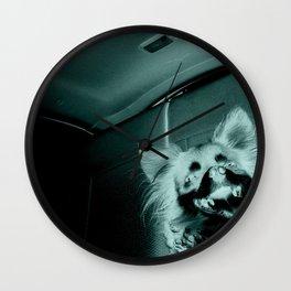 Gremlin Smile Wall Clock