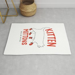 Kitten Mittons - You'll be Smitten! Rug