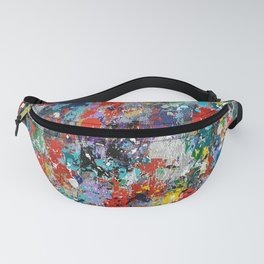 Abstract background painting 78 Fanny Pack