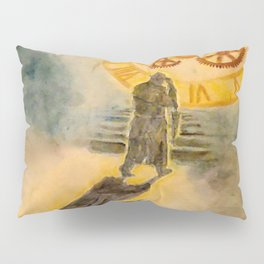The Passage of Father Time Pillow Sham