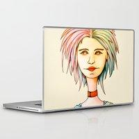 rasta Laptop & iPad Skins featuring Rasta Girl by IOSQ