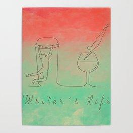 Writer´s Life Poster