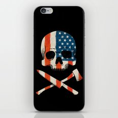 American P$yscho iPhone & iPod Skin