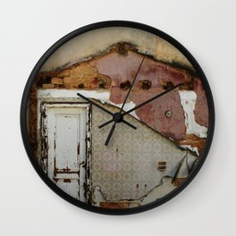 Unidimensional house Wall Clock
