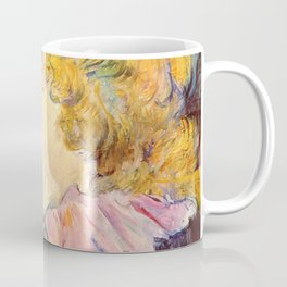 "Henri de Toulouse-Lautrec ""The Lady of the Star Harbour"" Coffee Mug"
