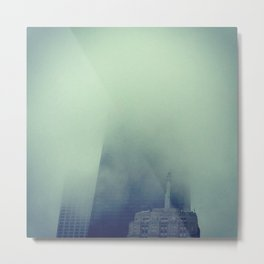 Cloudscrapers Metal Print