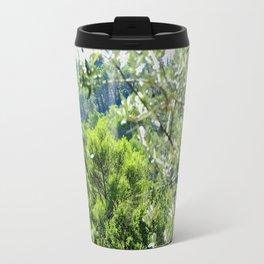 Sunny Green Scenery Travel Mug